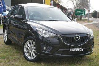 2013 Mazda CX-5 KE1021 MY13 Akera SKYACTIV-Drive AWD Black 6 Speed Sports Automatic Wagon.