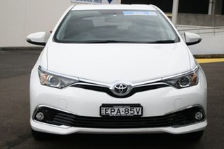 2016 Toyota Corolla ZRE182R Ascent Sport White 6 Speed Manual Hatchback
