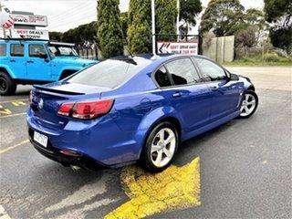 2015 Holden Commodore VF II MY16 SV6 Blue 6 Speed Sports Automatic Sedan.