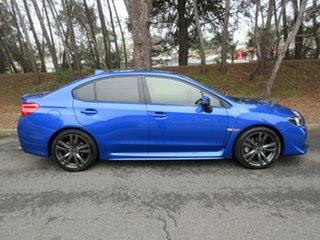 2015 Subaru WRX V1 MY16 Premium Lineartronic AWD Blue 8 Speed Constant Variable Sedan.