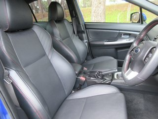 2015 Subaru WRX V1 MY16 Premium Lineartronic AWD Blue 8 Speed Constant Variable Sedan