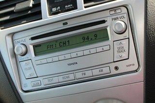 2008 Toyota Yaris NCP93R YRS White Solid 5 Speed Manual Sedan