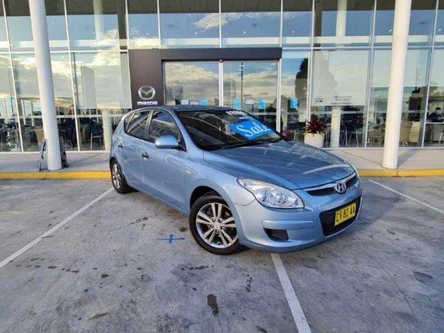 Used Hyundai i30 FD MY09 SX Kirrawee, 2009 Hyundai i30 FD MY09 SX Blue 4 Speed Automatic Hatchback