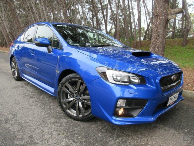 Used Subaru WRX V1 MY16 Premium Lineartronic AWD Reynella, 2015 Subaru WRX V1 MY16 Premium Lineartronic AWD Blue 8 Speed Constant Variable Sedan
