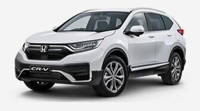 Demo Honda CR-V RW MY21 VTi 4WD LX AWD Atherton, 2021 Honda CR-V RW MY21 VTi 4WD LX AWD White 1 Speed Constant Variable Wagon
