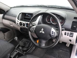 2009 Mitsubishi Triton MN MY10 GLX-R (4x4) Grey 5 Speed Manual 4x4 Double Cab Utility