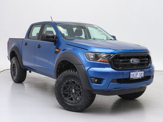 2020 Ford Ranger PX MkIII MY21.25 XLS 3.2 (4x4) Blue 6 Speed Automatic Double Cab Pick Up.