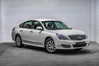 2011 Nissan Maxima J32 250 X-tronic ST-L White 6 Speed Constant Variable Sedan.
