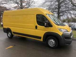 2017 Fiat Ducato Series 6 Mid Roof LWB Comfort-matic Yellow 6 Speed Sports Automatic Single Clutch.