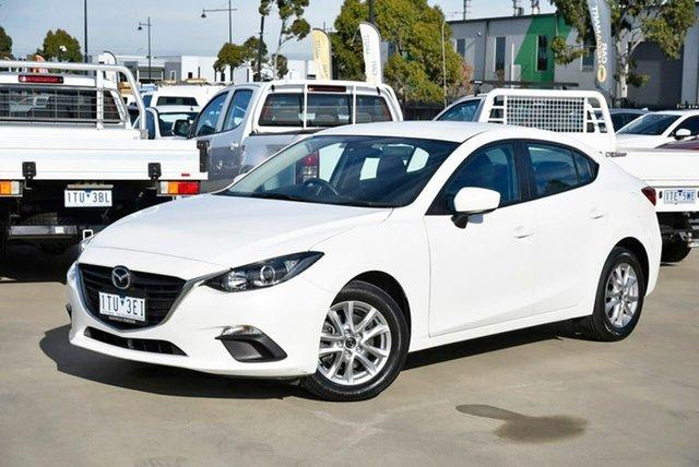 Used Mazda 3 BM5278 Neo SKYACTIV-Drive Pakenham, 2015 Mazda 3 BM5278 Neo SKYACTIV-Drive White 6 Speed Sports Automatic Sedan