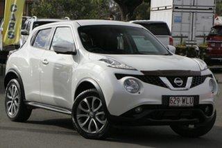 2015 Nissan Juke F15 Series 2 Ti-S 2WD White 6 Speed Manual Hatchback.