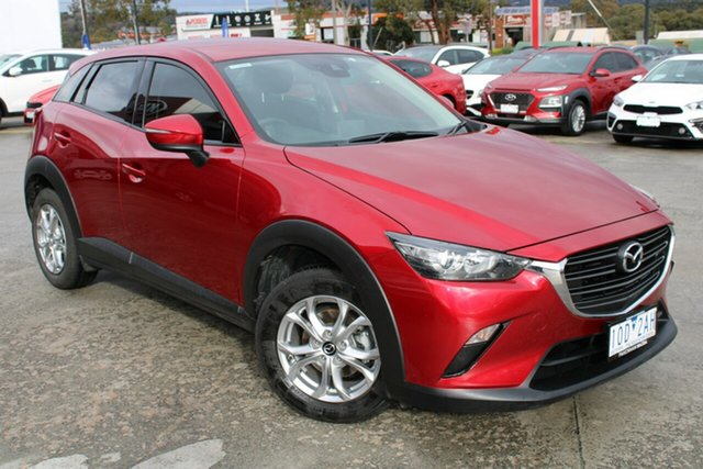 Used Mazda CX-3 DK2W7A Maxx SKYACTIV-Drive Ferntree Gully, 2018 Mazda CX-3 DK2W7A Maxx SKYACTIV-Drive Red 6 Speed Sports Automatic Wagon