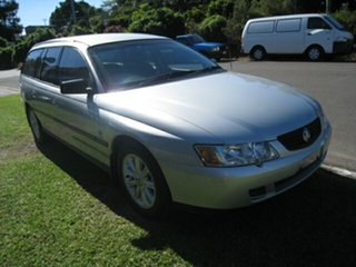 2003 Holden Commodore Centrelink  Finance $75 Per Week Silver 4 Speed Automatic Wagon.