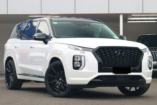 New Hyundai Palisade LX2.V1 MY21 2WD Burnie, 2021 Hyundai Palisade LX2.V1 MY21 2WD White Cream 8 Speed Sports Automatic Wagon