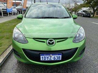 2010 Mazda 2 DE Neo Green 4 Speed Automatic Hatchback