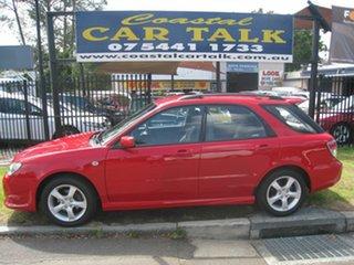 2005 Subaru Impreza RS Red 5 Speed Manual Hatchback.