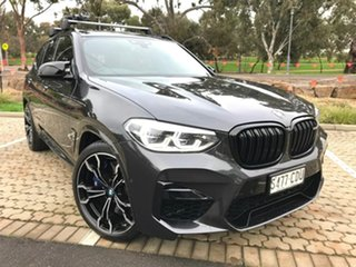 2019 BMW X3 M F97 Competition M Steptronic M xDrive Grey 8 Speed Sports Automatic Wagon.