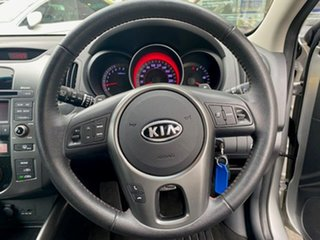 2012 Kia Cerato TD MY12 SLi Silver 6 Speed Sports Automatic Sedan