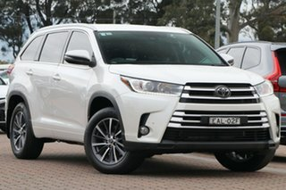 2018 Toyota Kluger GSU50R GXL 2WD White 8 Speed Sports Automatic SUV.