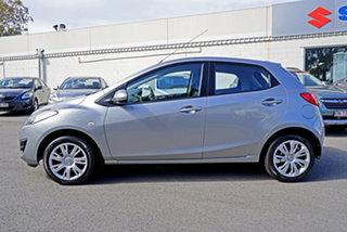 2012 Mazda 2 DE10Y2 MY12 Neo Aluminium 4 Speed Automatic Hatchback