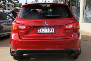 2013 Mitsubishi ASX XB MY14 Aspire 2WD Red 6 Speed Constant Variable Wagon