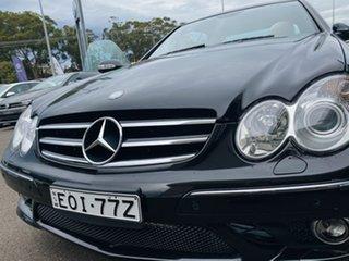 2009 Mercedes-Benz CLK-Class C209 MY08 CLK350 Avantgarde Black 7 Speed Sports Automatic Coupe