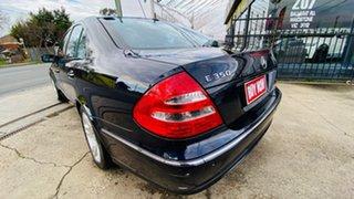 2005 Mercedes-Benz E-Class W211 MY06 E350 Avantgarde Blue 7 Speed Automatic Sedan