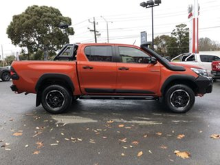 2019 Toyota Hilux GUN126R Rugged X Double Cab Inferno 6 Speed Sports Automatic Utility.