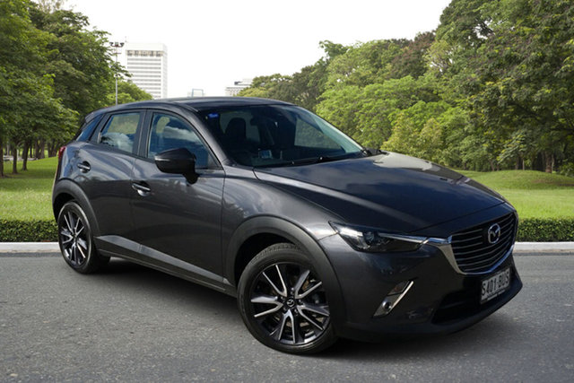 Used Mazda CX-3 DK4W7A sTouring SKYACTIV-Drive i-ACTIV AWD Paradise, 2016 Mazda CX-3 DK4W7A sTouring SKYACTIV-Drive i-ACTIV AWD Grey 6 Speed Sports Automatic Wagon