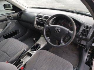 2005 Honda Civic 7th Gen MY2004 GLi Black/Grey 5 Speed Manual Sedan