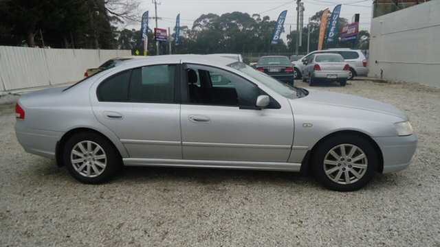 Used Ford Fairmont BF Seaford, 2006 Ford Fairmont BF Silver 4 Speed Sports Automatic Sedan