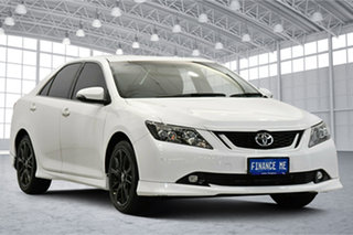 2016 Toyota Aurion GSV50R Sportivo White 6 Speed Sports Automatic Sedan.