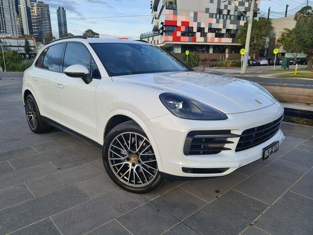 Used Porsche Cayenne 9YA MY20 Tiptronic South Melbourne, 2019 Porsche Cayenne 9YA MY20 Tiptronic White 8 Speed Sports Automatic Wagon