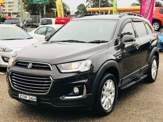 2016 Holden Captiva CG MY17 Active 2WD Brown 6 Speed Sports Automatic Wagon.