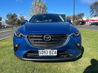 2018 Mazda CX-3 DK2W7A sTouring SKYACTIV-Drive Dynamic Blue 6 Speed Sports Automatic Wagon.