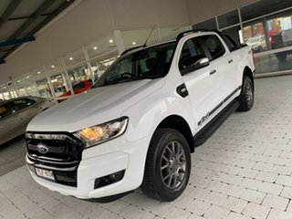 2018 Ford Ranger FX4 White Sports Automatic Double Cab Pick Up.