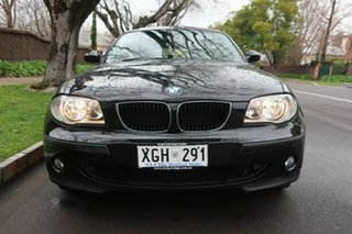 2005 BMW 1 Series E87 118i Black 6 Speed Automatic Hatchback.