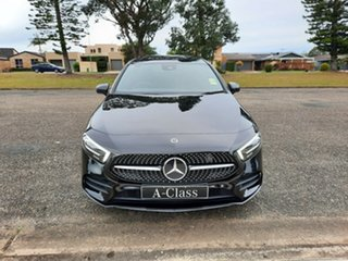 2021 Mercedes-Benz A-Class V177 801+051MY A180 DCT Cosmos Black 7 Speed Sports Automatic Dual Clutch.