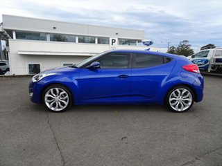 2011 Hyundai Veloster FS Coupe D-CT Blue 6 Speed Automatic Hatchback