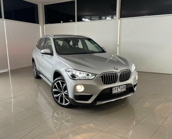 Used BMW X1 F48 xDrive25i Steptronic AWD Deer Park, 2018 BMW X1 F48 xDrive25i Steptronic AWD Silver, Chrome 8 Speed Sports Automatic Wagon