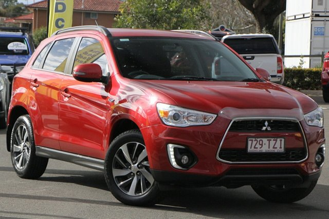 Used Mitsubishi ASX XB MY15 LS 2WD Toowoomba, 2014 Mitsubishi ASX XB MY15 LS 2WD Red 6 Speed Constant Variable Wagon