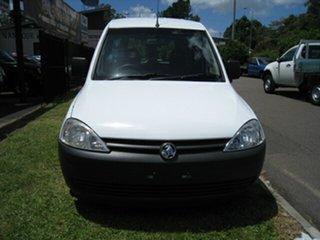 2007 Holden Combo XC White 5 Speed Manual Van.
