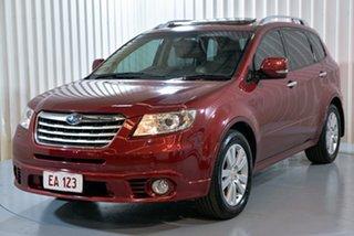 2013 Subaru Tribeca B9 MY13 R AWD Premium Pack Red 5 Speed Sports Automatic Wagon.