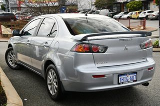 2011 Mitsubishi Lancer CJ MY11 SX Silver 6 Speed Constant Variable Sedan.