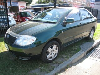2001 Toyota Corolla AE112R Conquest Green 4 Speed Automatic Sedan.