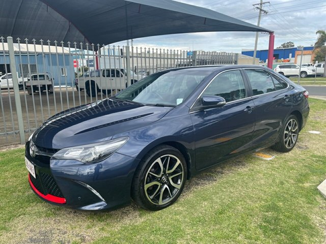 Used Toyota Camry ASV50R MY16 Atara SX Toowoomba, 2017 Toyota Camry ASV50R MY16 Atara SX Blue 6 Speed Automatic Sedan