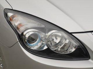 2011 Hyundai i30 FD MY11 SX Sleek Silver 4 Speed Automatic Hatchback.