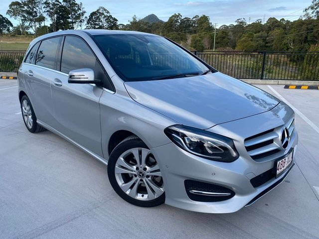 Used Mercedes-Benz B-Class W246 808MY B200 DCT Cooroy, 2017 Mercedes-Benz B-Class W246 808MY B200 DCT Silver 7 Speed Sports Automatic Dual Clutch Hatchback