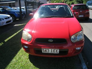 2003 Subaru Impreza RS Finance $46 Per Week Red 4 Speed Automatic Sedan.