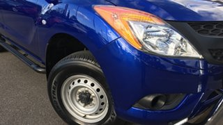 2014 Mazda BT-50 UP0YF1 XT Freestyle Blue 6 Speed Sports Automatic Cab Chassis
